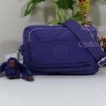 Kipling Merryl หรือ ชื่อเดิม Multiple Precisely Purple กระเป๋าคาดเอว หรือสะพายน่ารัก ขนาด L7.75 x H 5 X L3 นิ้ว