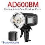 AD600BM Bowen Mount Manual For Canon Nikon Built in X1 Trigger Godox WITSTRO แฟลชสตูดิโอ