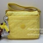 Kipling Limited Sebastian Pineapple Embossed Daisies กระเป๋าสะพายน่ารัก ขนาด 9.25 x 8.5 x 1.75 นิ้ว