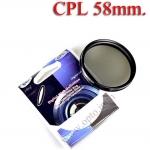 Digital Filter 58mm. CPL Circular Polarizing C-PL