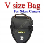 V-shape Size Bag For Nikon D5300 D3300 D7100 D600 D800