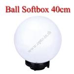 GL40 Glove Light Ball Diffuser Dome Softbox Studio Bowens Mount 40cm โคมบอลกลมสำหรับไฟสตูดิโอ