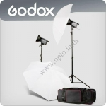 LQ1000 Set1 2xContinuous Lighting Digital Quartz Light Photography with Dimmer 1000W
