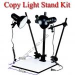 Copy Stand with 26Wx2 Continuous Day Light ขาตั้งและชุดหลอดไฟสำหรับถ่ายพระเครื่อง