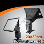 Godox Portable softbox for Speedlite(Universal type) 20*30cm