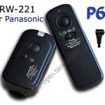 RW-221 2.4GHz Wire/Wireless Remote set P6 For Panasonic FZ50/FZ30/FZ20