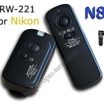 RW-221 2.4GHz Wire/Wireless Remote set N8 For Nikon D700/D300/D200/D800