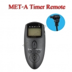 Met-A Multi-Exposure Timer Remote Control for CANON RS-80N3 30D 40D 50D 5D 7D 1D รีโมทตั้งเวลาถ่าย