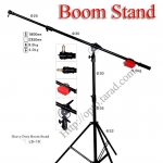 LS-10 Boom Stand Red Hammer for Flash Studio (H/400cm.)