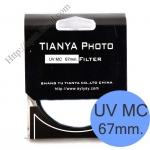 TIANYA UV Multi-Coated 67mm.
