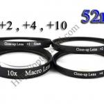 Macro Lens +1,+2,+4,+10 (Close-up Lens) 52mm