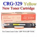 CRG-329 Yellow For Canon LBP7018C Toner Printer Laser (New Cartridge) ตลับหมึกสีเหลือง