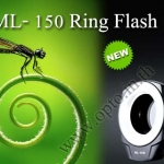 ML-150 Macro Ring flash for Nikon Canon