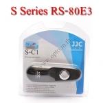 JJC S Series สายลั่นชัตเตอร์ รีโมท Wired Remote Control C1 For Canon RS-80E3 60D 450D 500D 650D 700D
