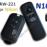 RW-221 2.4GHz Wire/Wireless Remote set N10 For Nikon D90/D3100/D5000/D7000