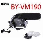 BY-VM190 Boya Shotgun Microphone For DSLR Camera DV Camcorder ไมค์ติดหัวกล้องสำหรับกล้องDSLR