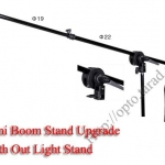 LS-06 Mini Boom Stand for Mini Flash (L/130cm.) With out Light Stand