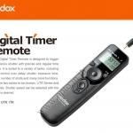 Godox Timer Remote Control C8 For Canon 50D/5D/6D/7D(TC-80N3)