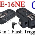 PE-16NE For Canon C8 Flash Trigger and Wireless Remote with Umbrella Holder