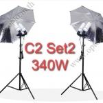 C2 Set2 340W Fluorescent Light Kit