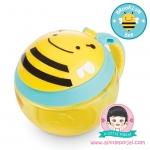 ถ้วยถือใส่ขนม ลายผึ้ง