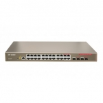 IP-COM G3224P 24-Port Gigabit+4*SFP Combo Managed PoE Switch