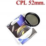 Digital Filter 52mm. CPL Circular Polarizing C-PL