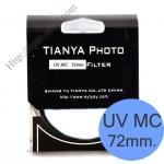 TIANYA UV Multi-Coated 72mm