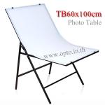 TB60100 Photo Table for camera 60x100cm. Easy to use โต๊ะถ่ายภาพสินค้า