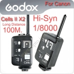 Godox Cells II X2 Wireless Speedlite Transceiver Trigger High Speed Sync