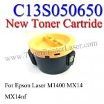 C13S050650(S050652) For Epson MX14 M1400 Toner Printer Laser (New Cartridge)