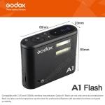 Godox A1 Smartphone Mobile Wireless Flash System Studio+Flash Trigger+LED แฟลชสำหรับมือถือสมาร์ทโฟน