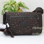 Kipling Callie Monkey Mania Brown กระเป๋าสะพาย ขนาด L10.5 x H7.5 x D 4.5 นิ้ว