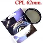 Digital Filter 62mm. CPL Circular Polarizing C-PL