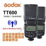 TT600 Godox Flash Speedlight Manual for Nikon Canon (Built in Wireless Radio 2.4G) แฟลชหัวค้อน