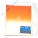TianYa Gradual Orange Colour For Cokin P Series