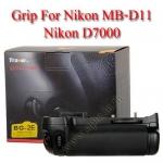 Travor แบตเตอรี่กริ๊ป BG-2E Battery Grip for Nikon MB-D11 D7000