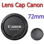 72mm. ฝาปิดหน้าเลนส์สำหรับกล้อง Canon