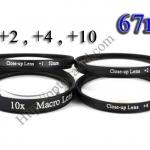 Macro Lens +1,+2,+4,+10 (Close-up Lens) 67mm