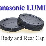 Body and Rear Lens Cap for Panasonic Lumix Micro Four Third ฝาปิดท้ายเลนส์และบอดี้