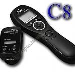 TW-282 Wireless Timer Remote C8 For Canon 20D/30D/40D/50D/5D/7D/1D