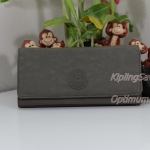 Kipling Brownie Soft Earthy C กระเป๋าสตางค์ใบยาว ขนาด 19 L x 10 H x 3 W cm