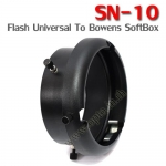 SN-10 Adapter Mount Interchangeable (Universal Flash to Bowens SoftBox)