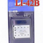 OEM Battery for Olympus LI-42B FE5500 u780 Stylus720 แบตเตอรี่กล้องโอลิมปัส