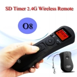 SD Wireless Timer Remote Time Lapse O8 For Olympus E1/E3/E10/E20