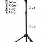 LG-200 Light Stand for Flash Studio (H/200cm.)