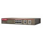 IP-COM S3300-10-PWR-M 8-PoE Ports 10/100Mbps.+ 2 Gig Combo(RJ45/SFP) Manage Switch