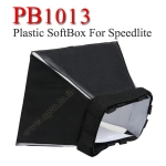 PB1013 Plastic Portable softbox for Speedlite(Universal type) 10*13cm