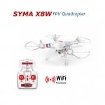 โดรนติดกล้อง SYMA X8W FPV Real-Time คอปเตอร์สี่ใบพัดติดกล้องถ่ายภาพมุมสูงสีขาว (White)