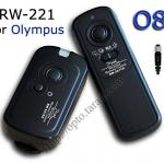 RW-221 2.4GHz Wire/Wireless Remote set O8 For Olympus E1/E3/E10/E20